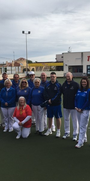 Para bowlers train in Spain