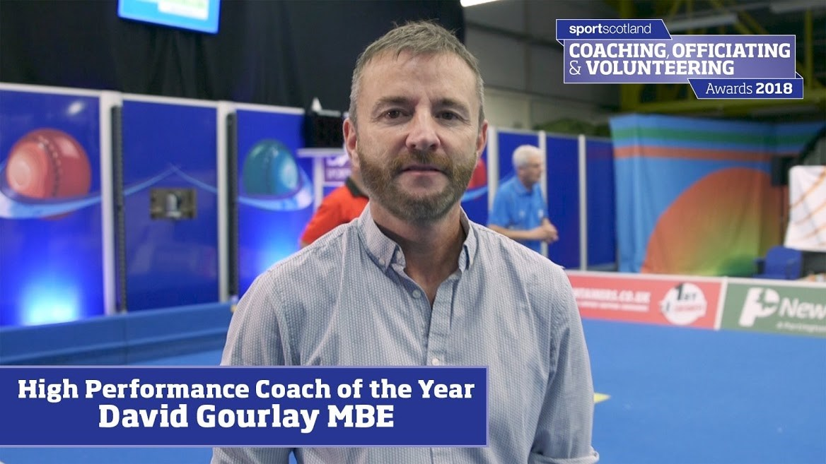 Gourlay named coach of the year