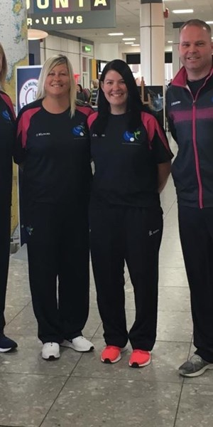 2019 Atlantic Championships Scotland Team arrives in Wales