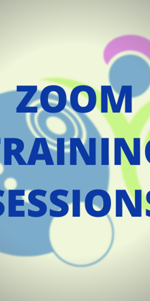 Zoom Training Sessions